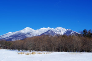 冬の八ヶ岳のイメージ